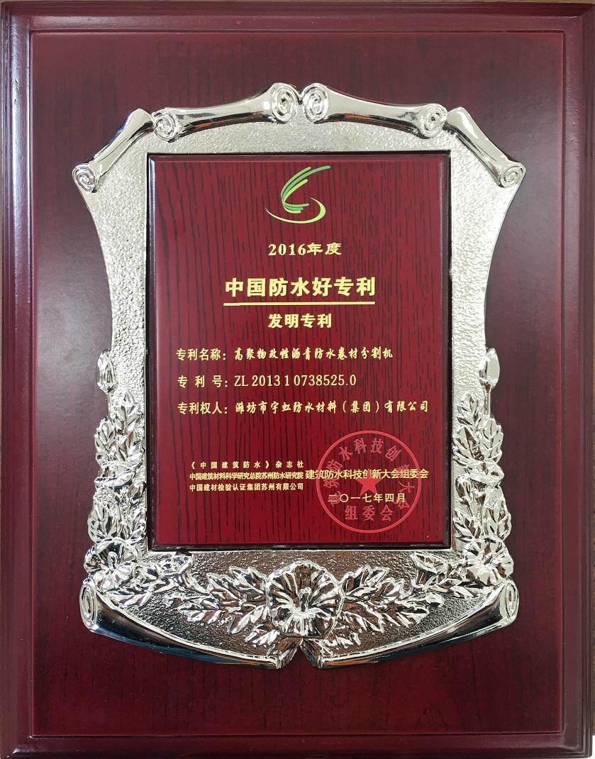 中国防水好专利